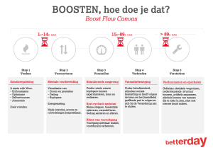 Boost Flow Canvas (betterday) Veranderen in 90 Dagen Boosten
