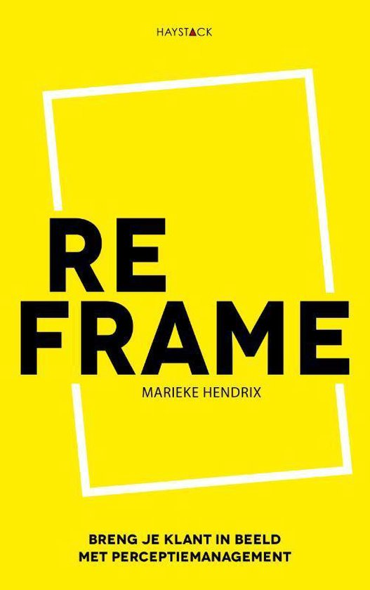 Reframe boekcover Marieke Hendrix