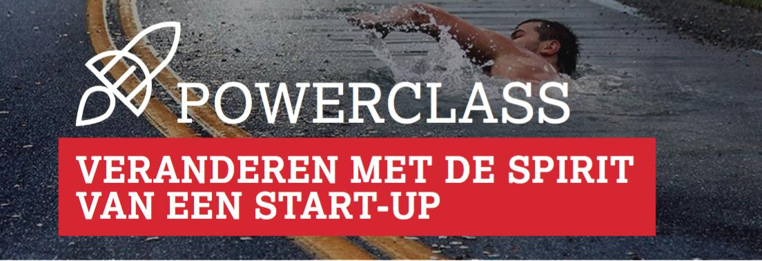 Veranderen met de spirit van een start-up (workshop)
