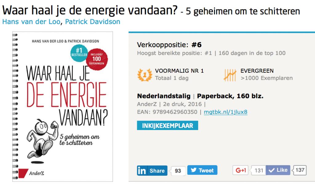 Waar haal je de energie vandaan? bestseller