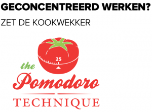 Pomodoro-techniek - geconcentreerd werken- Elke dag met meer positieve energie werken