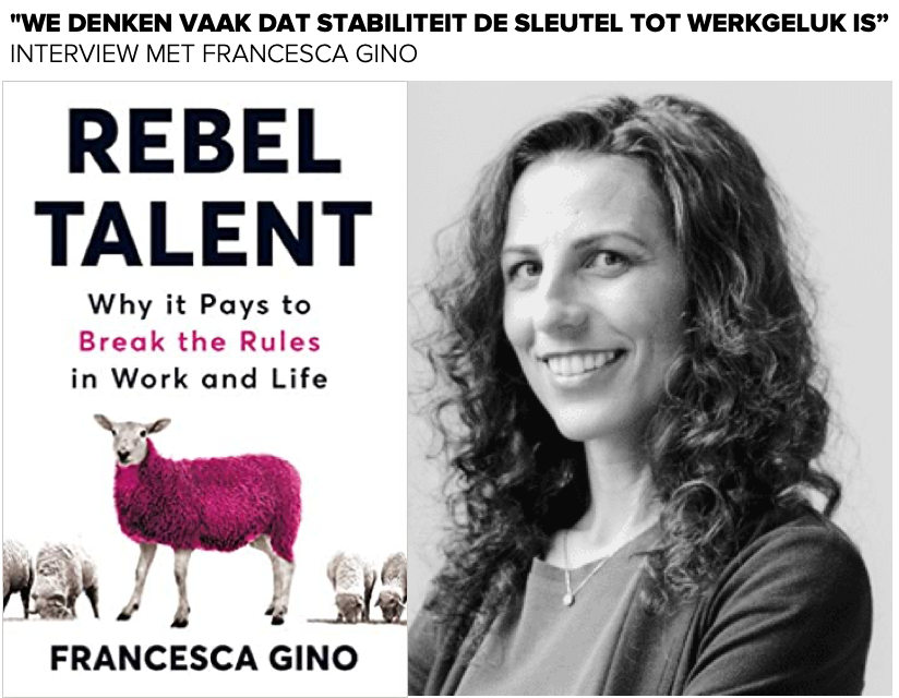 Francesca Gino - Interview met Patrick Davidson - Rebel Talent