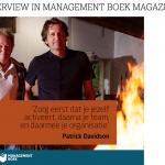 Interview Management Boek Magazine - Werkvuur Patrick Davidson & Hans van der Loo BETTERDAY.NL