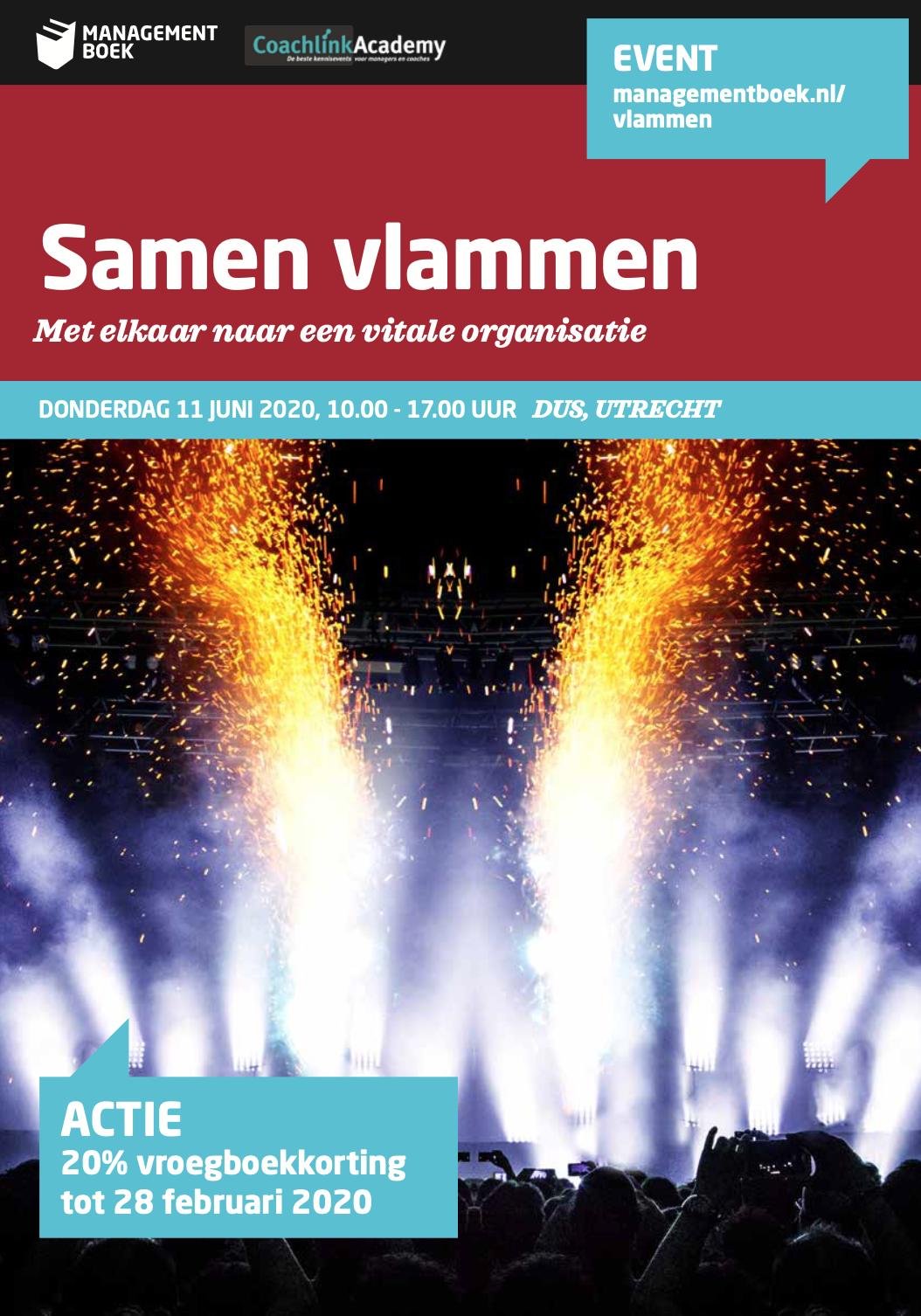 Samen vlammen event 2020, event met Elke Geraerts, Marijke Lingsma e.a.