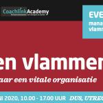 Samen vlammen event 2020 met Elke Geraerts, Arjen Banach, Marijke Lingsma, Patrick Davidson en Hans van der Loo