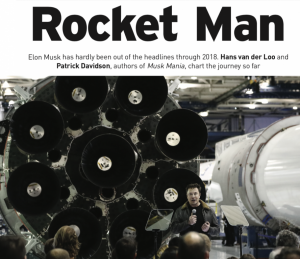 Elon Musk - Rocket Man: Article for Business Plus, by Patrick Davidson & Hans van der Loo