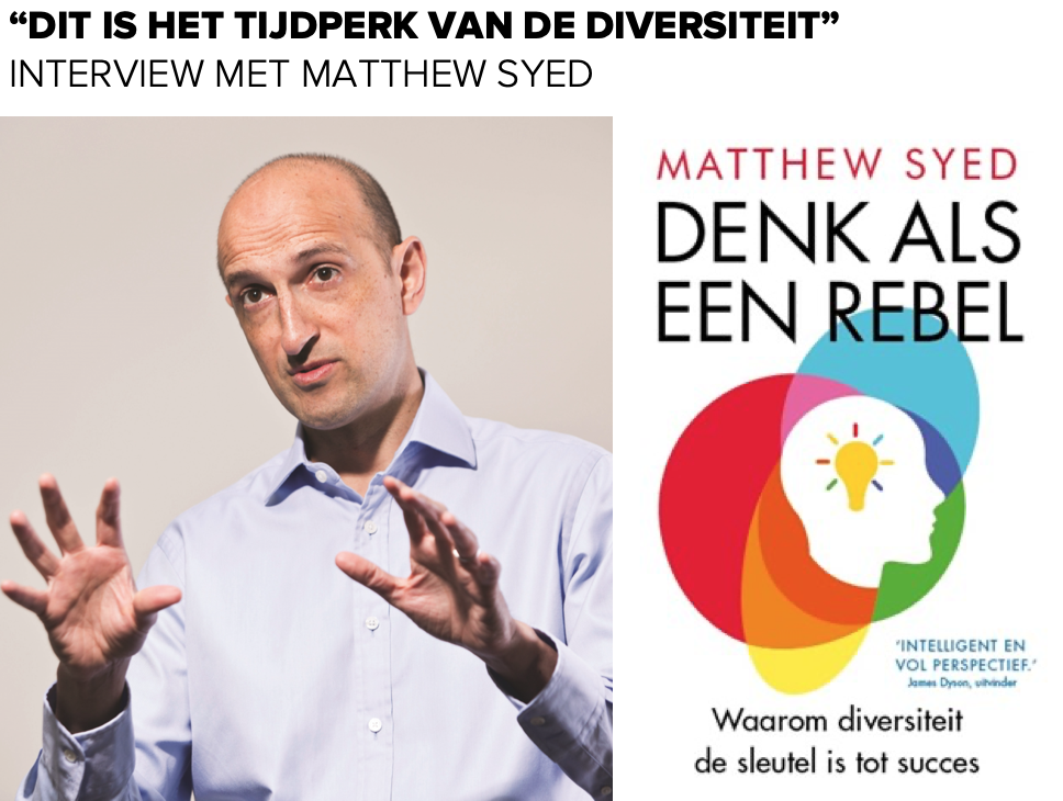Interview met MATTHEW SYED - PATRICK DAVIDSON - betterday.nl