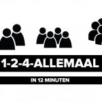 1-2-4-allemaal: energieke werkvorm in 12 minuten