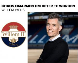 Willem Weijs - Chaos omarmen om beter te worden