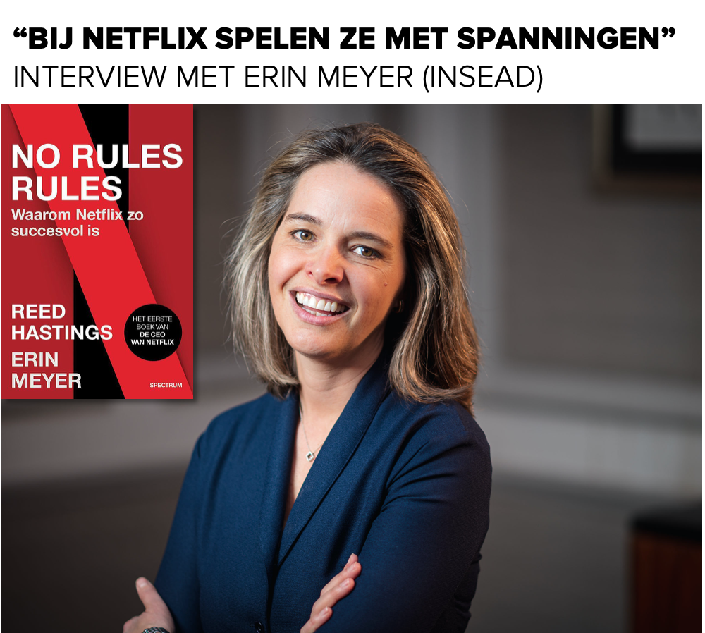 Interview met Erin Meyer (INSEAD) over Netflix