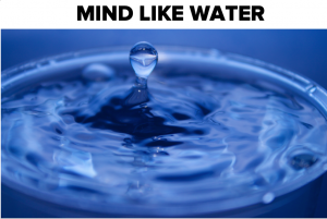Maak je hoofd leeg: a mind like water
