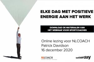 NLCOACH Patrick Davidson - webinar - sportcoach - Download de materialen