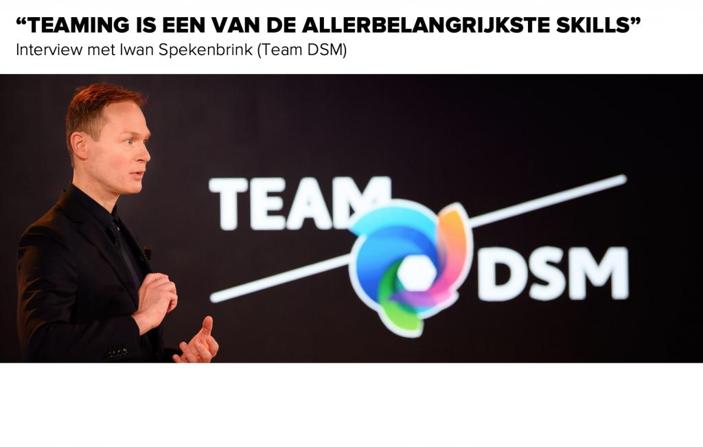 Iwan Spekenbrink over het succes van Team DSM - teaming