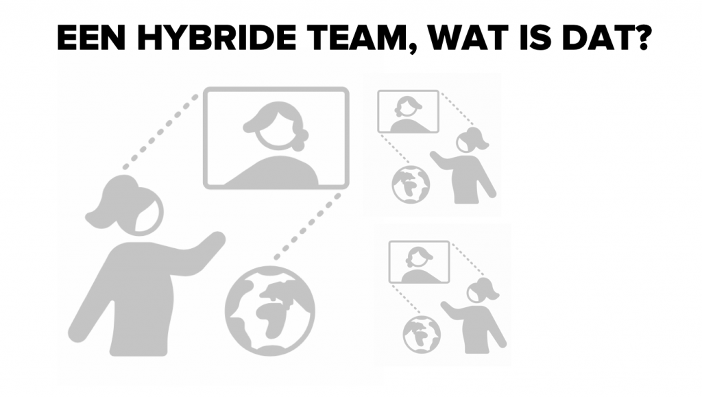 Een hybride team, wat is dat?