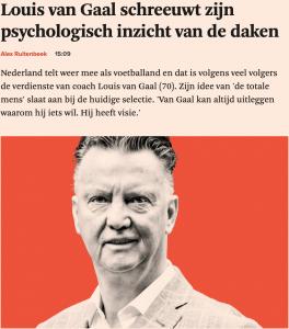 Louis van Gaal - teaming - Patrick Davidson