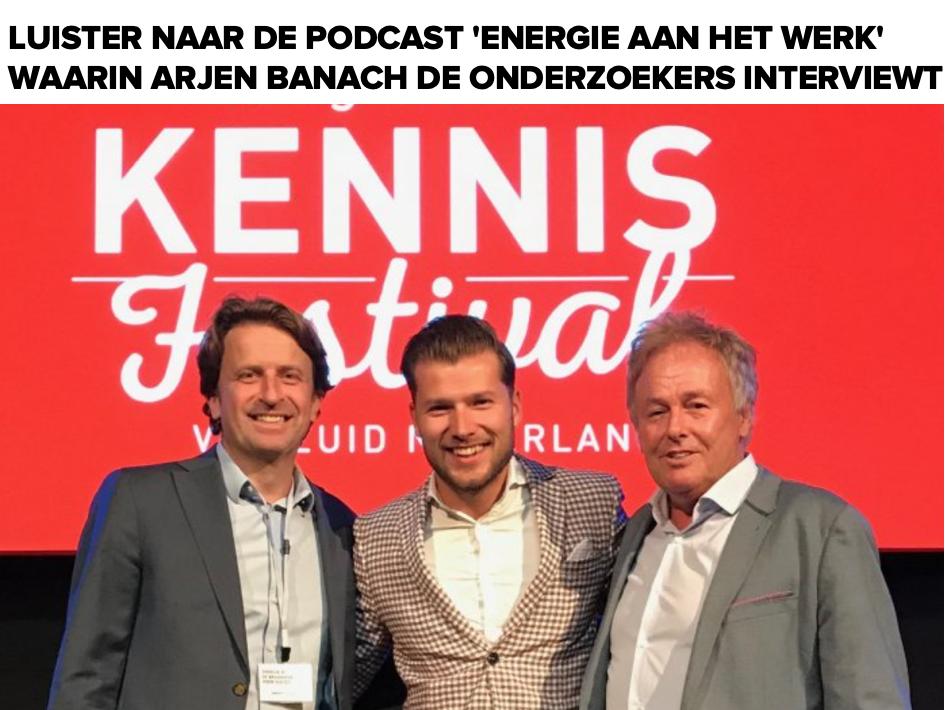 Podcast met Patrick Davidson, Hans van der Loo en Arjen Banach