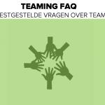 Teaming FAQ - de meest gestelde vragen over teaming