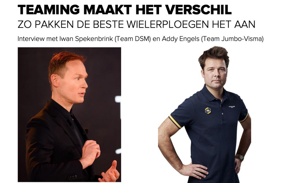 Teaming maakt het verschil - Zo pakken de beste wielerploegen het aan - Interview met Iwan Spekenbrink (Team DSM)