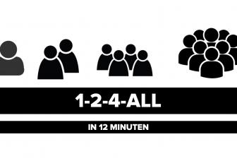 1-2-4-All: energieke werkvorm voor teams