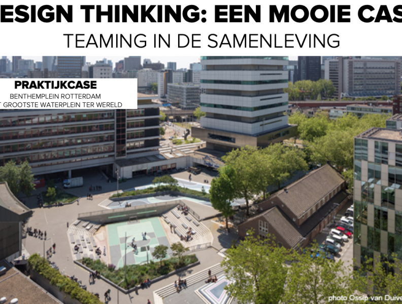 Design thinking: een mooie case