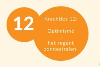 Krachtles 12: Optimisme – Het regent zonnestralen