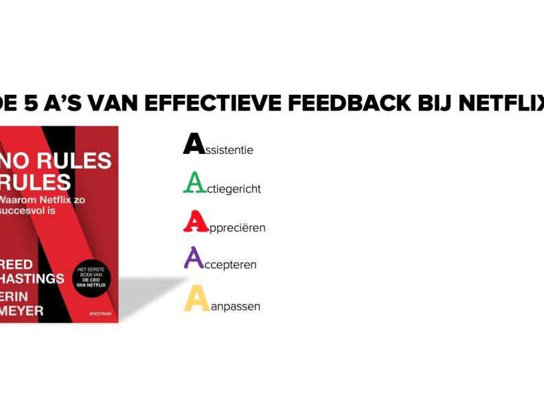 Effectieve feedback: zo doen ze dat bij Netflix