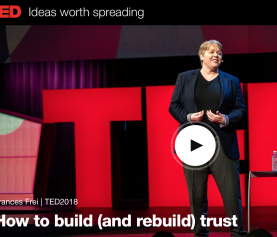 Het belang van vertrouwen: Frances Frei (TED-talk)