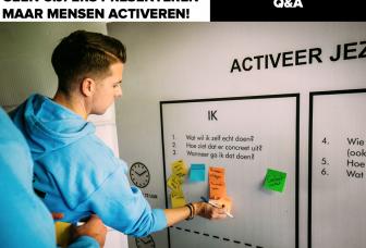Hoe krijg je deelnemers wel in een actieve stand?