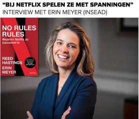 Netflix: No Rules Rules – Interview met Erin Meyer