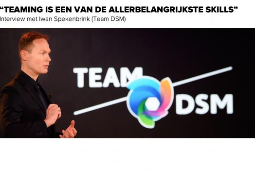 Team DSM: interview met Iwan Spekenbrink over de kracht van teaming