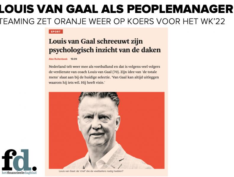 Hoe kreeg Louis van Gaal Oranje weer aan de praat?