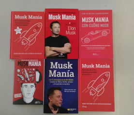 Ons boekje Musk Mania nu in nog meer talen beschikbaar