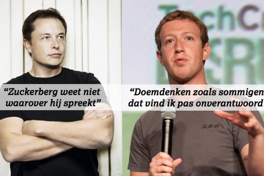 Zuckerberg versus Musk: tweestrijd op Twitter (Management Impact)