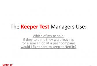 Netflix Keeper Test