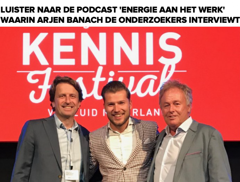 Onderzoek werk & energie: waar krijgt werkend Nederland energie van? (interview, audio)