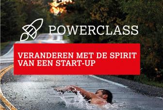 Powerclass Veranderen met de Spirit van een Start-up