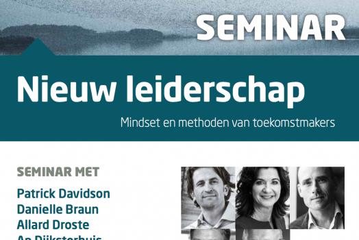 Nieuw Leiderschap: wat zijn de mindset & methoden van toekomstmakers?