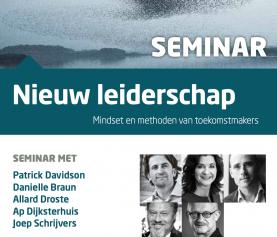 22 juni | Nieuw Leiderschap: mindset & methoden van toekomstmakers