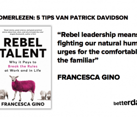 Zomerlezen: REBEL TALENT van Francesca Gino