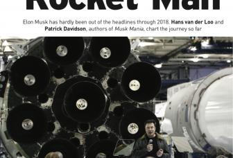 Rocket Man Elon Musk (Engelstalig artikel in Business Plus dec 2018)