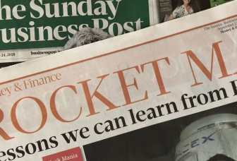 Lessons we can learn from Elon Musk (Sunday Business Post, 23.09.18)