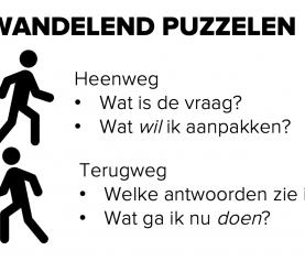 Wandelend puzzelen | work hack