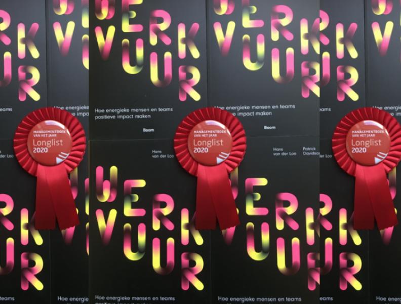 Management Boek van het Jaar 2020: Werkvuur is genomineerd