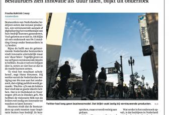 De visie op innovatie van Nederlandse bestuurders?