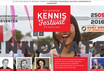 Het Grootste Kennisfestival van Nederland (video: 90 seconden)