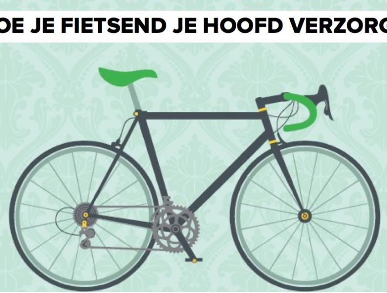 Hoe je fietsend je hoofd verzorgt
