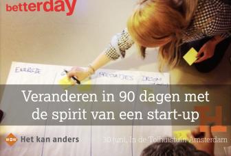 Veranderen met de Spirit van een Start-up (video: 90 seconden)