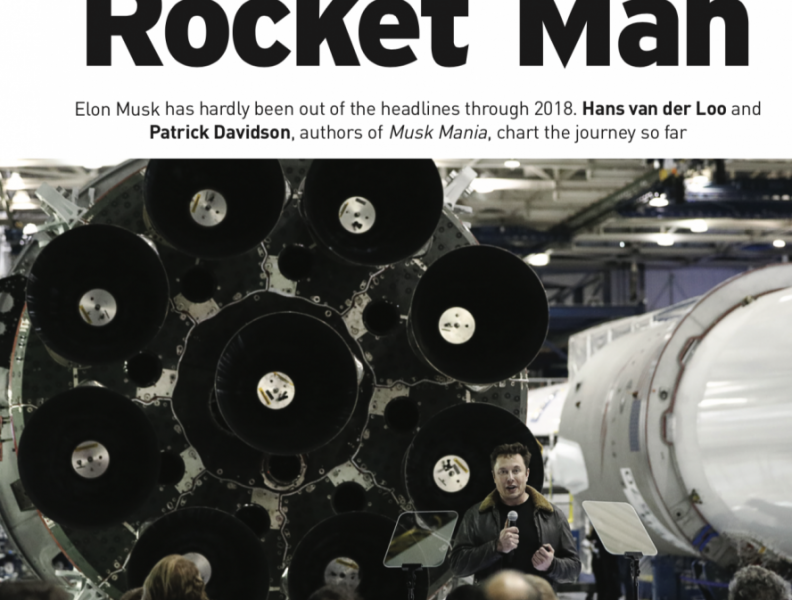 Elon Musk, Rocket Man (Article in English)
